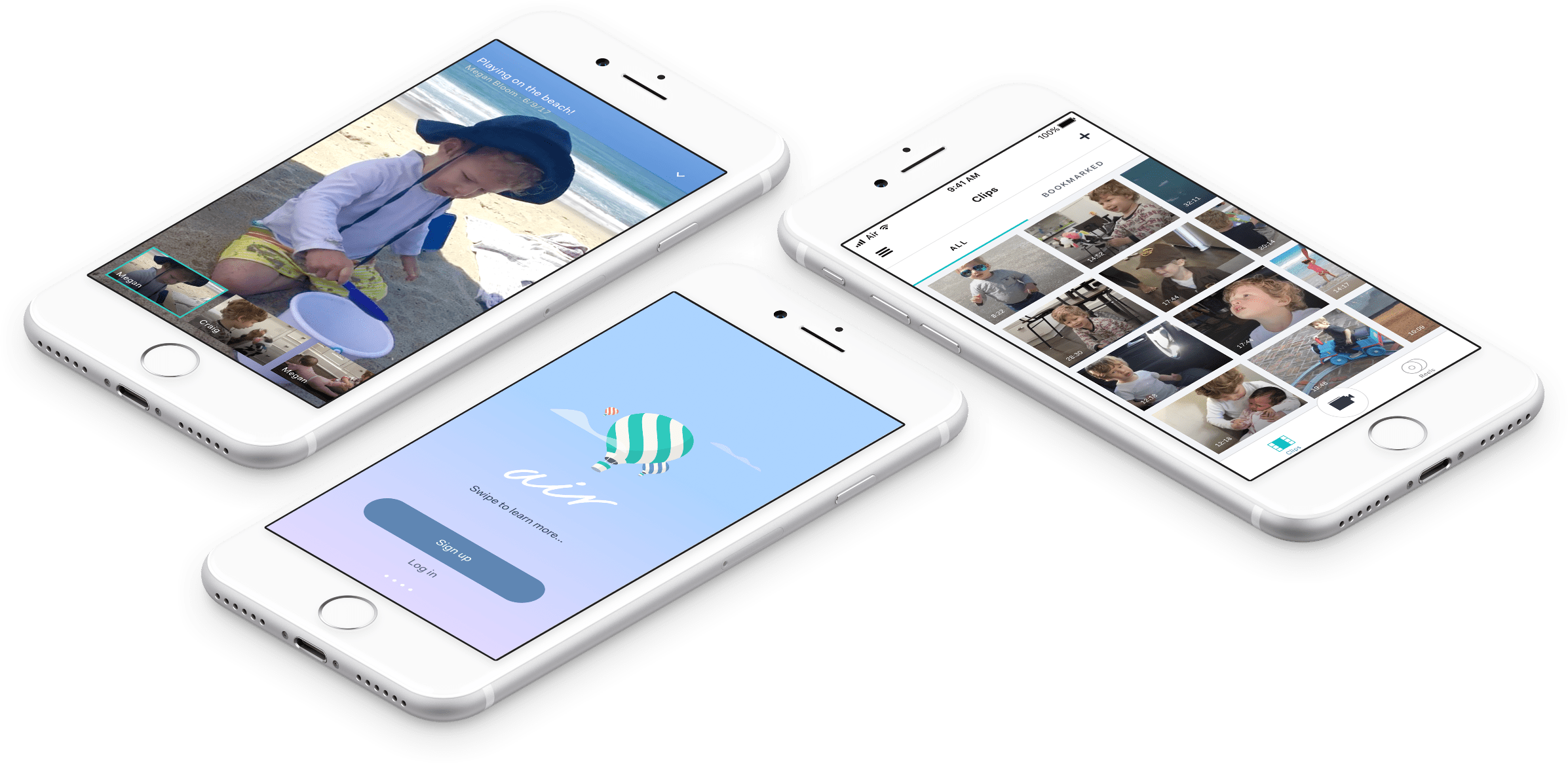 air lets you record high-quality home movies without running out of
