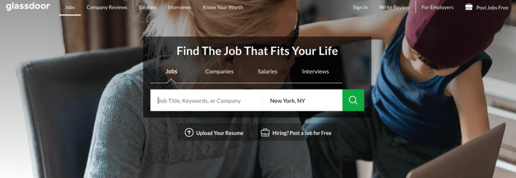 Glassdoor Is Great For Job Searching Because In Addition To Listing Job Openings The