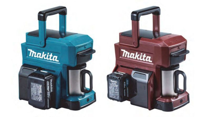 If you're looking for a coffee maker that can withstand anything, check out the MakitaCM501D.