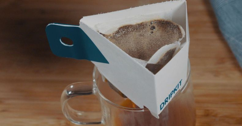 Dripkit is great for pour over coffee on the go.