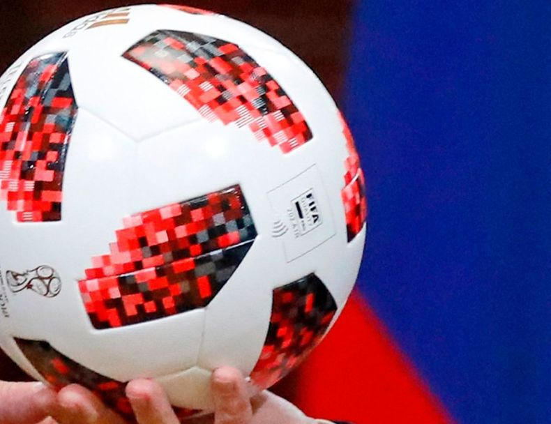 Mandatory Credit: Photo by Alexander Zemlianichenko/AP/REX/Shutterstock (9763104b) Donald Trump, Vladimir Putin. Russian President Vladimir Putin, right, gives a soccer ball to U.S. President Donald Trump, left, during a press conference after their meeting at the Presidential Palace in Helsinki, Finland Trump Putin Summit, Helsinki, Finland - 16 Jul 2018