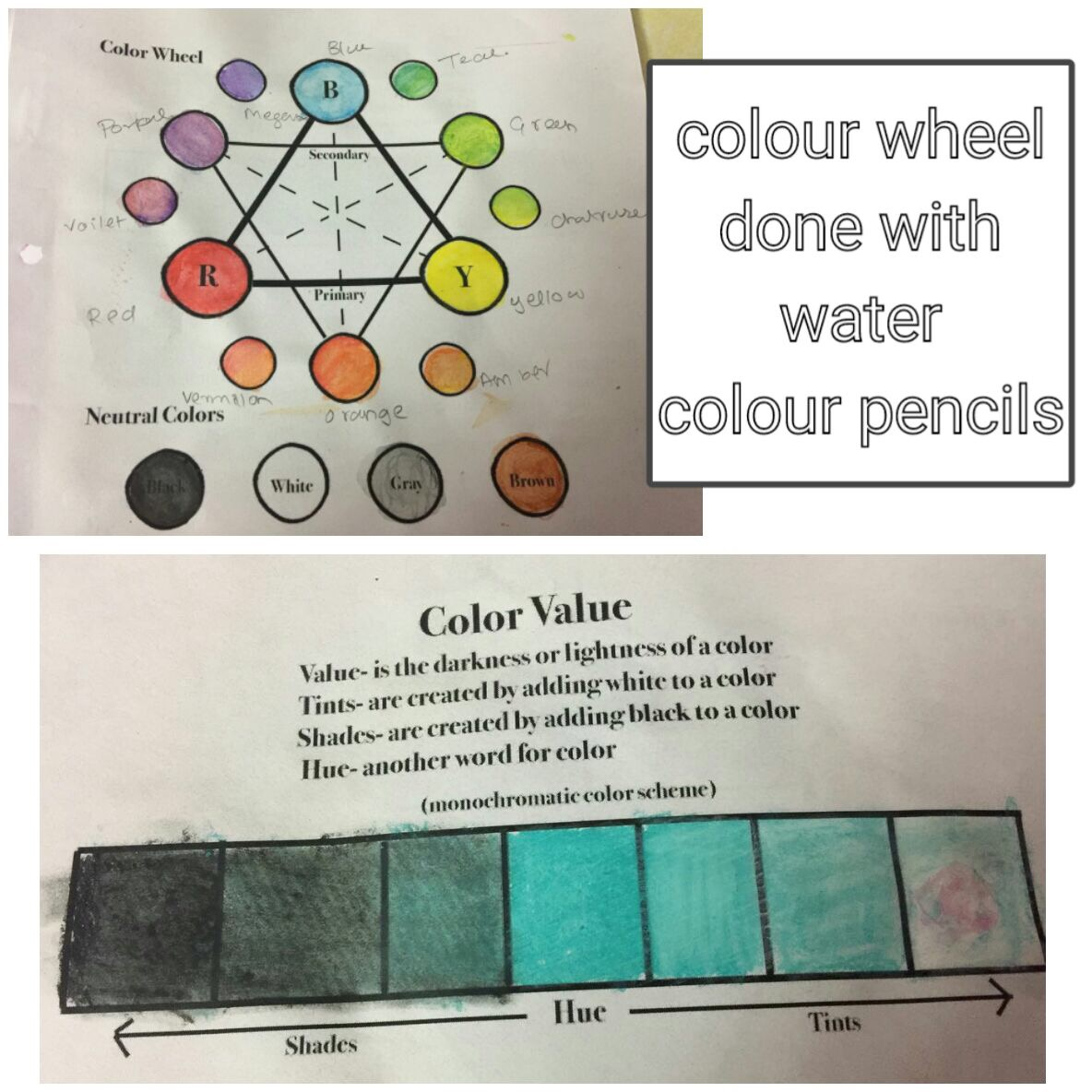 Colour Lessons For Elementary Children My Journey As A