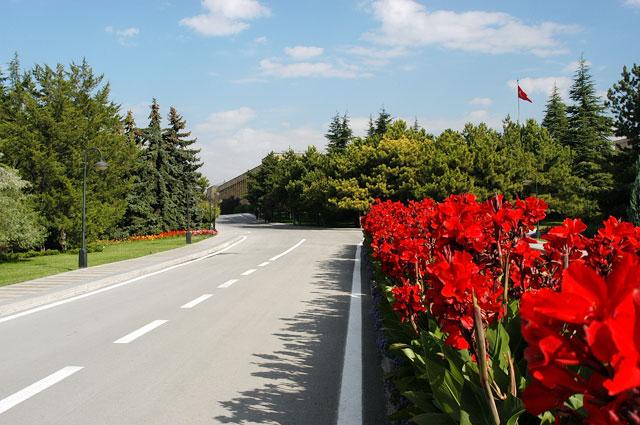 Anıtkabir'in giriş yolu