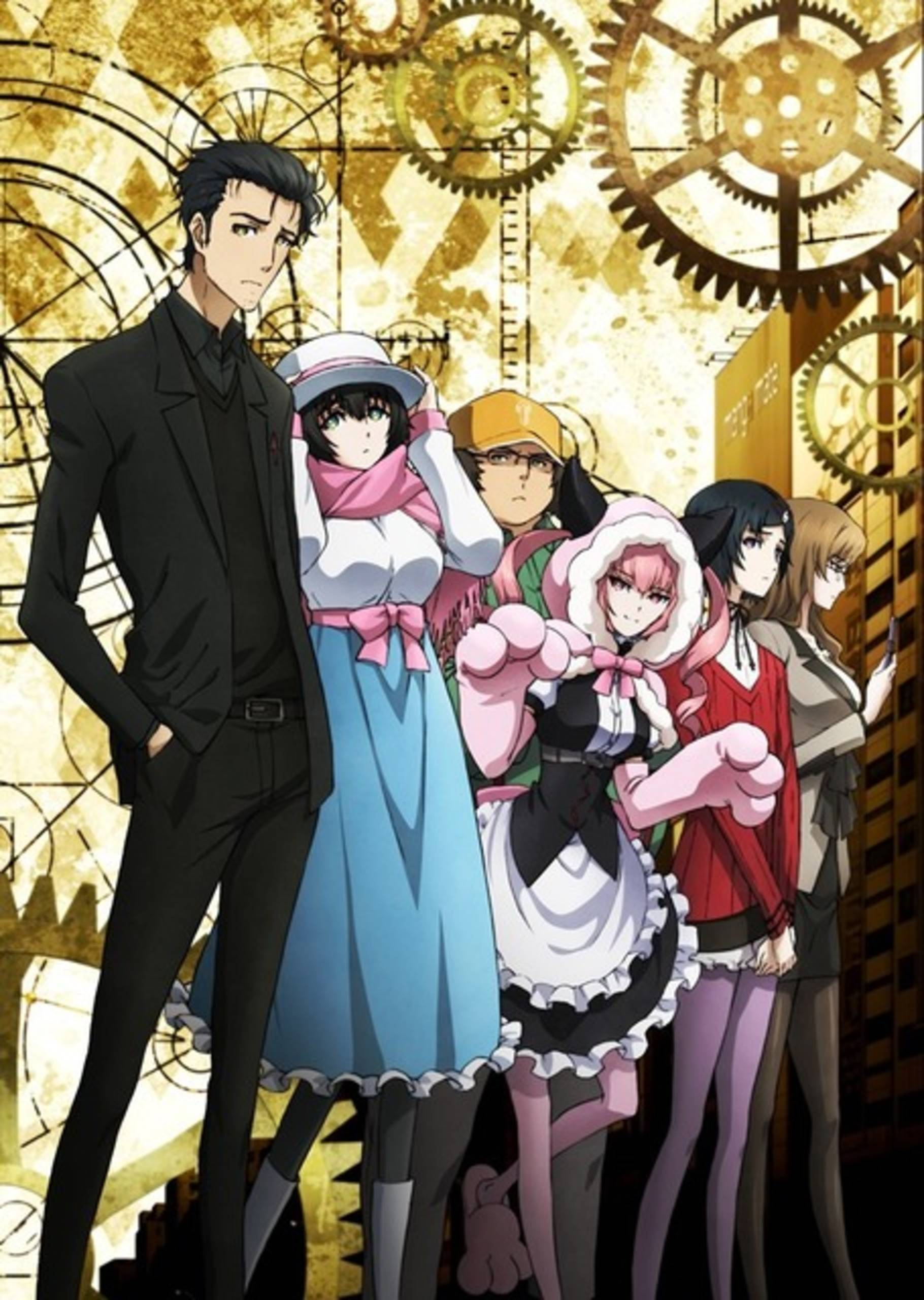 steins gate 0 official poster anime