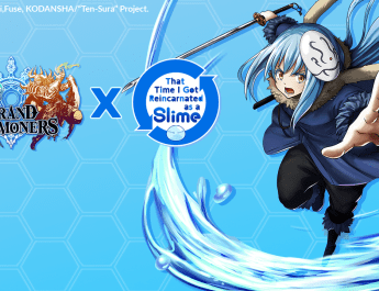 """That Time I Got Reincarnated as a Slime"" Grand Summoners Event"