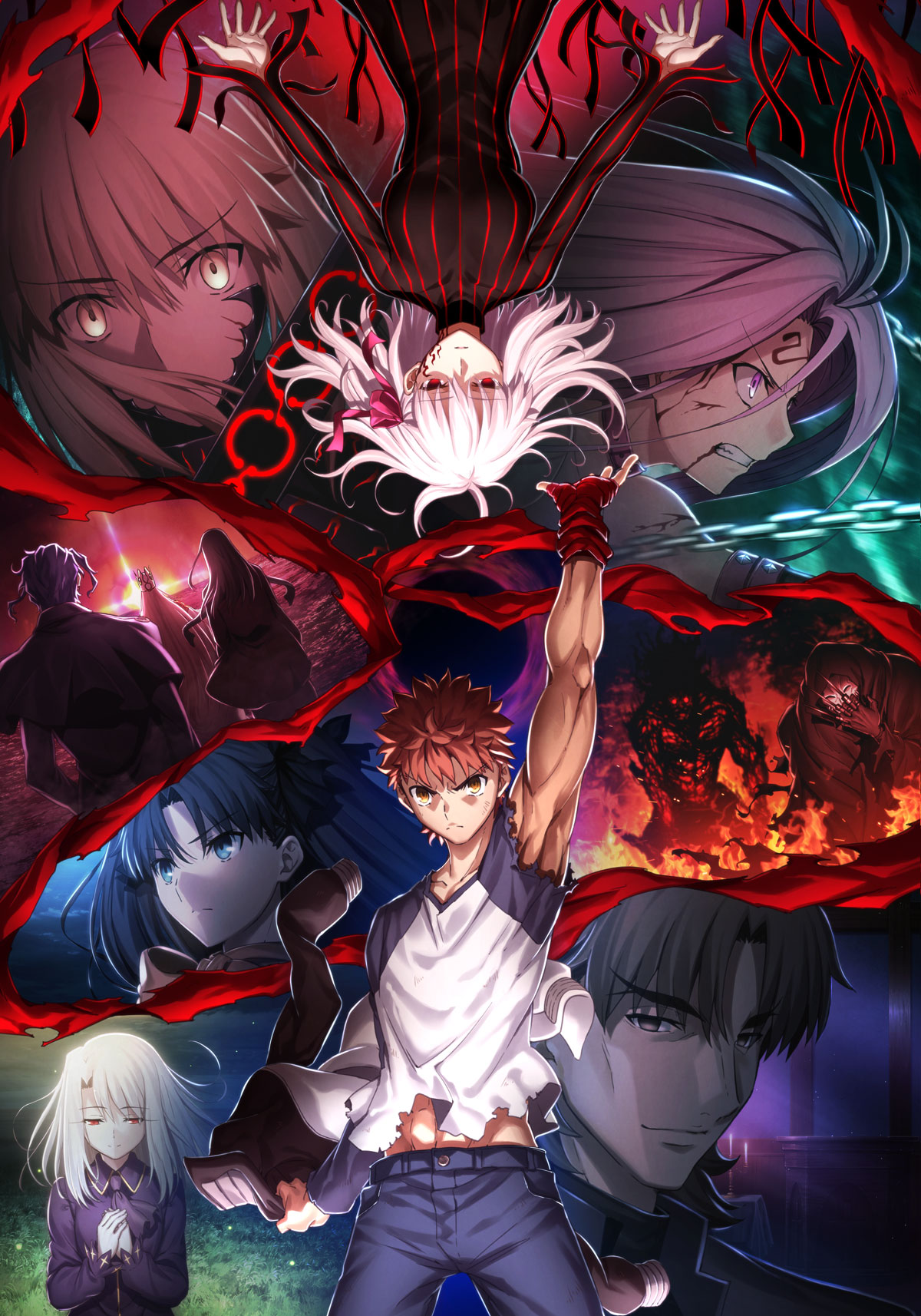 Fate Stay Night Heaven S Feel Iii Spring Song Coming March 28