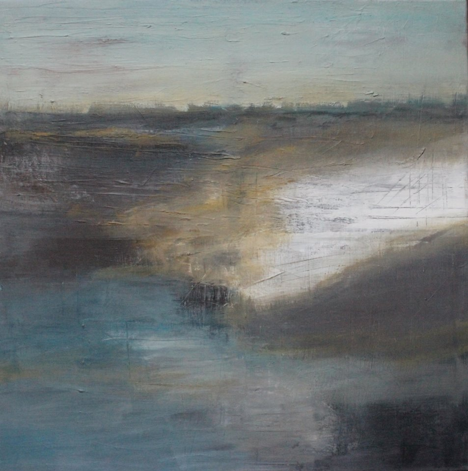 Winter landscape 80x80