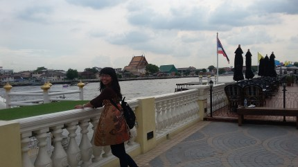 me in the bank of Chao Phraya
