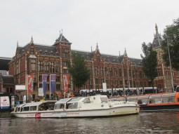 cruise trip along Amstel river