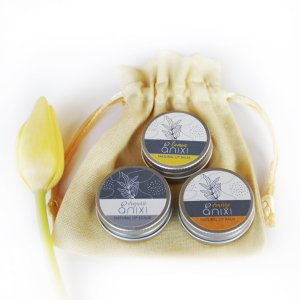 natural lip balm gift set