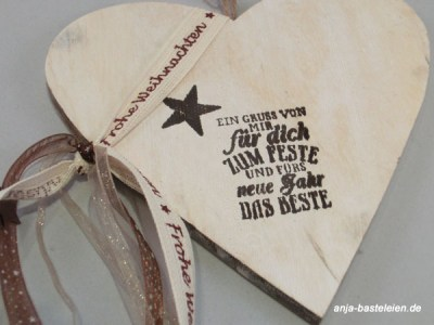 Stampin´ Up! meets wood.
