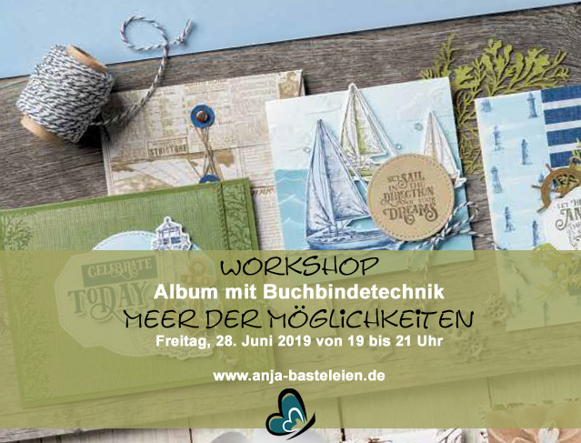 Workshop - Album mit Buchbindetechnik