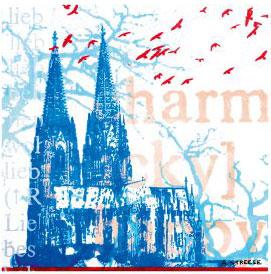 Köln, grüßt dich, blau