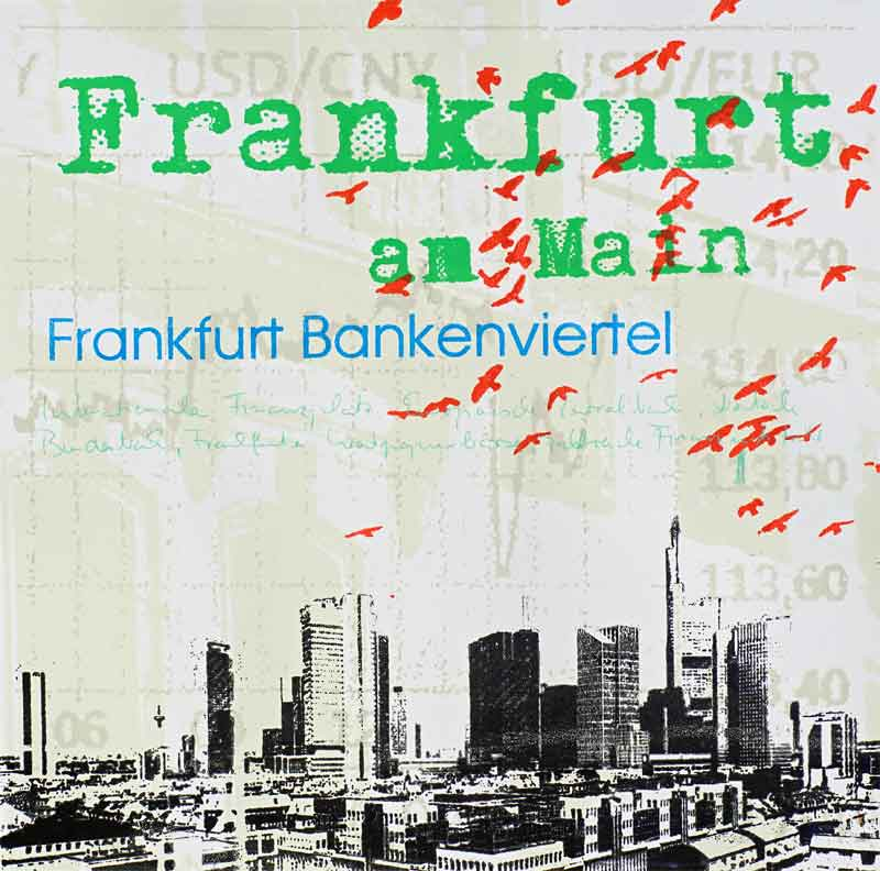 Frankfurt am Main Quadrat Bankenviertel