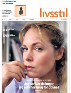 Josefine Klougart, en af Danmarks litterære stjerner kom i Livsstil i juli 2017. Forsidefoto er taget af Yilmaz Polat/JFM