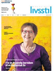 Kogebogsforfatter og eventyrer Kirsten Skaarup var på forsiden af Livsstil. Forsidefoto er taget af Peter Leth-Larsen/JFM