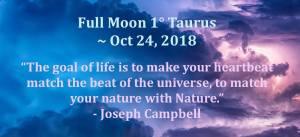 Full moon Taurus