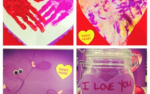 Valentine's Day Arts & Crafts For Kids