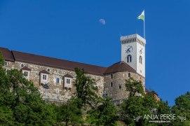 Castle above Ljubljana