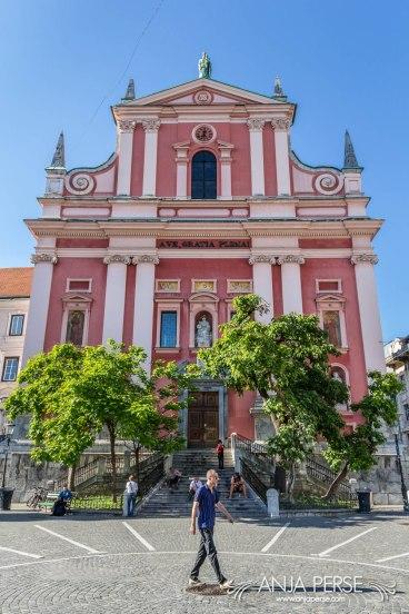 Franciscan Church of the Annunciation in Ljubljana