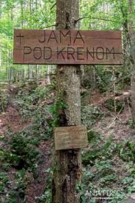 Sign Jama pod Krenom