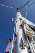 Man on a mast