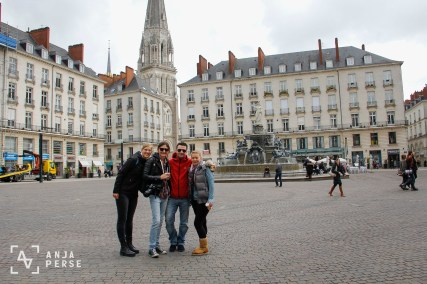 Photo team and friends at Nantes, France