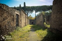 Forgotten streets of Pompeii
