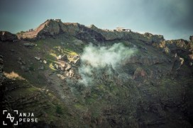 Still active volcano, Mount Vesuvius