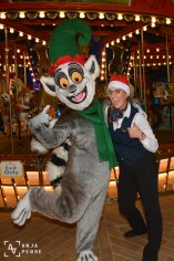 Also King Julien decided to get into Christmas spirit!