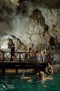 And on top of all I got to swim in one of the canote caves in Mexico. Lake inside a cave - magical!