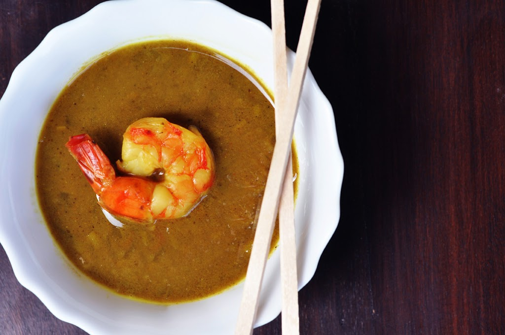 Prawn Curry with Coconut and Lemongrass