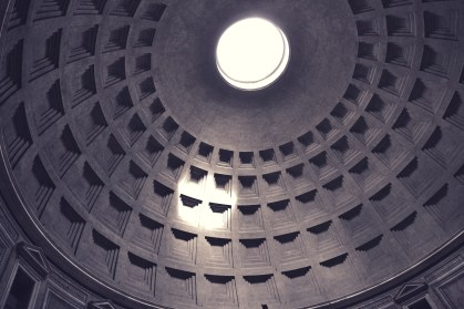 The coffered concrete dome of the Pantheon (2)