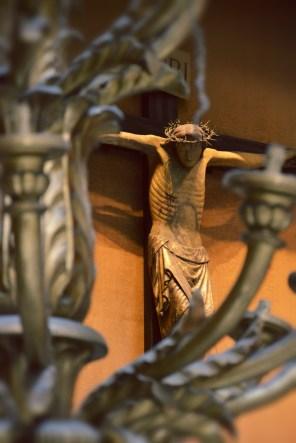 A statue of Jesus Christ