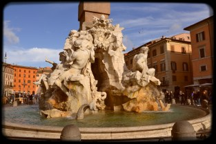 Fountain of the Four Rivers (Fontana dei Quattro Fiumi)