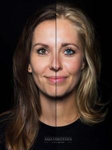 2 gezichten in 1 foto | 2in1 portret