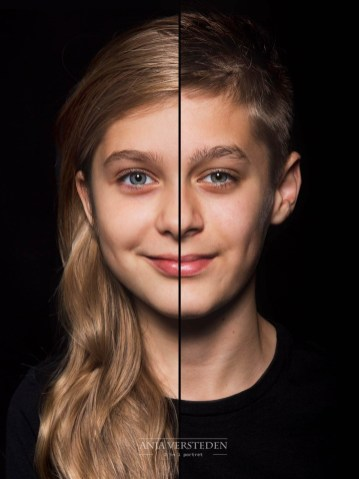 2in1 portret 2 in 1 | dubbelportret
