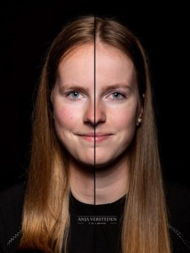 Tweeling portret duofotografie