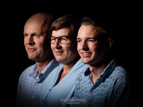 Generatiefoto | alle gezichten op een rij