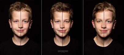 Drie broers 2in1 foto Portret
