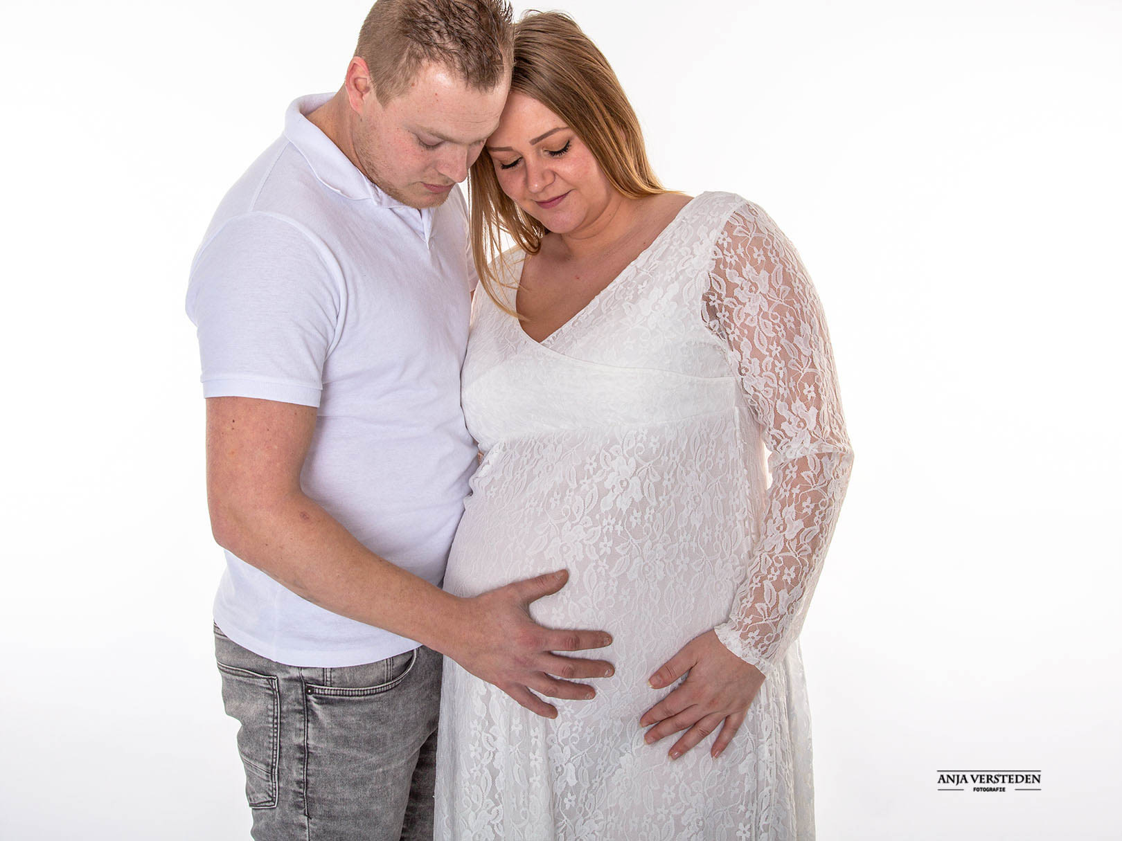 Studiofotografie zwangerschap