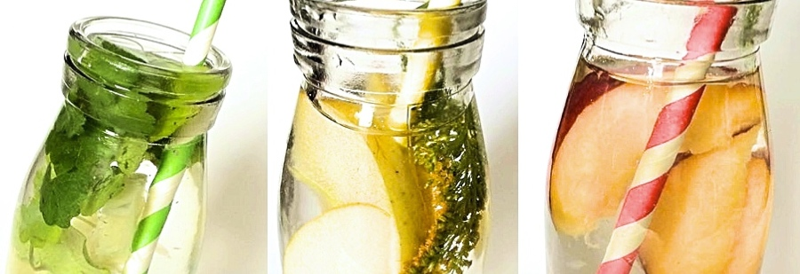 3 Detox Wasser Rezepte