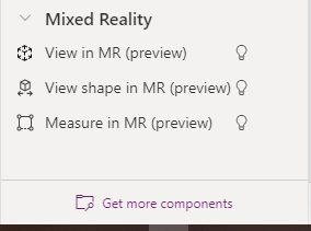 Mixed Reality Components