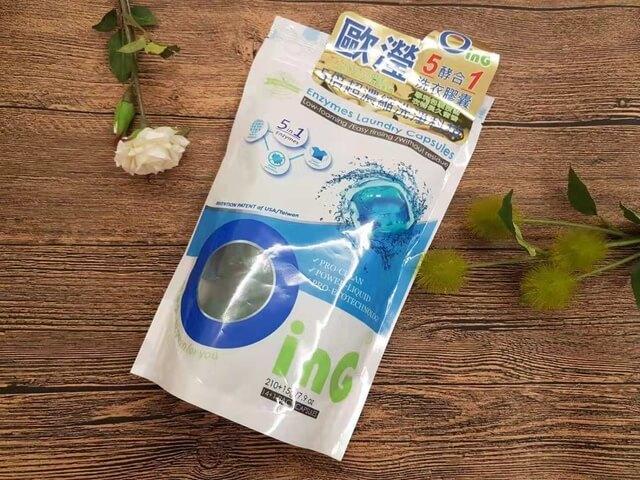 [轉載]全聯獨賣的歐瀅5酵合1洗衣膠囊~安全、低敏更放心