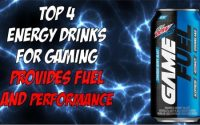 Top 4 Energy Drinks for Gaming That Provides Fuel