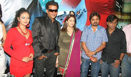 Ravi Kishan and Nagma at Muhurt of Don in Bhojpuri