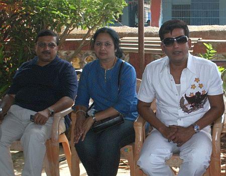 Sudhir, Tejasvi, and Ravi Kishan