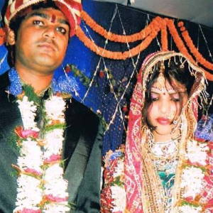 son-of-Samarjeet-with-bride