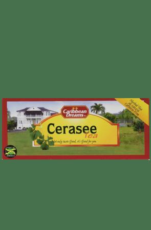 Caribbean Dreams Cerasee Tea (pack of 24 tea bags)   All Natural, Caffeine Free Tea