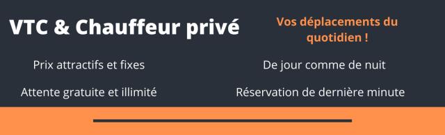VTC : Votre chauffeur privé sur Angers, Nantes, Rennes, Le Mans, Saumur, Tours